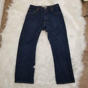LEVI'S 517 Slim Fit Boot Cut Jeans 34 x 29
